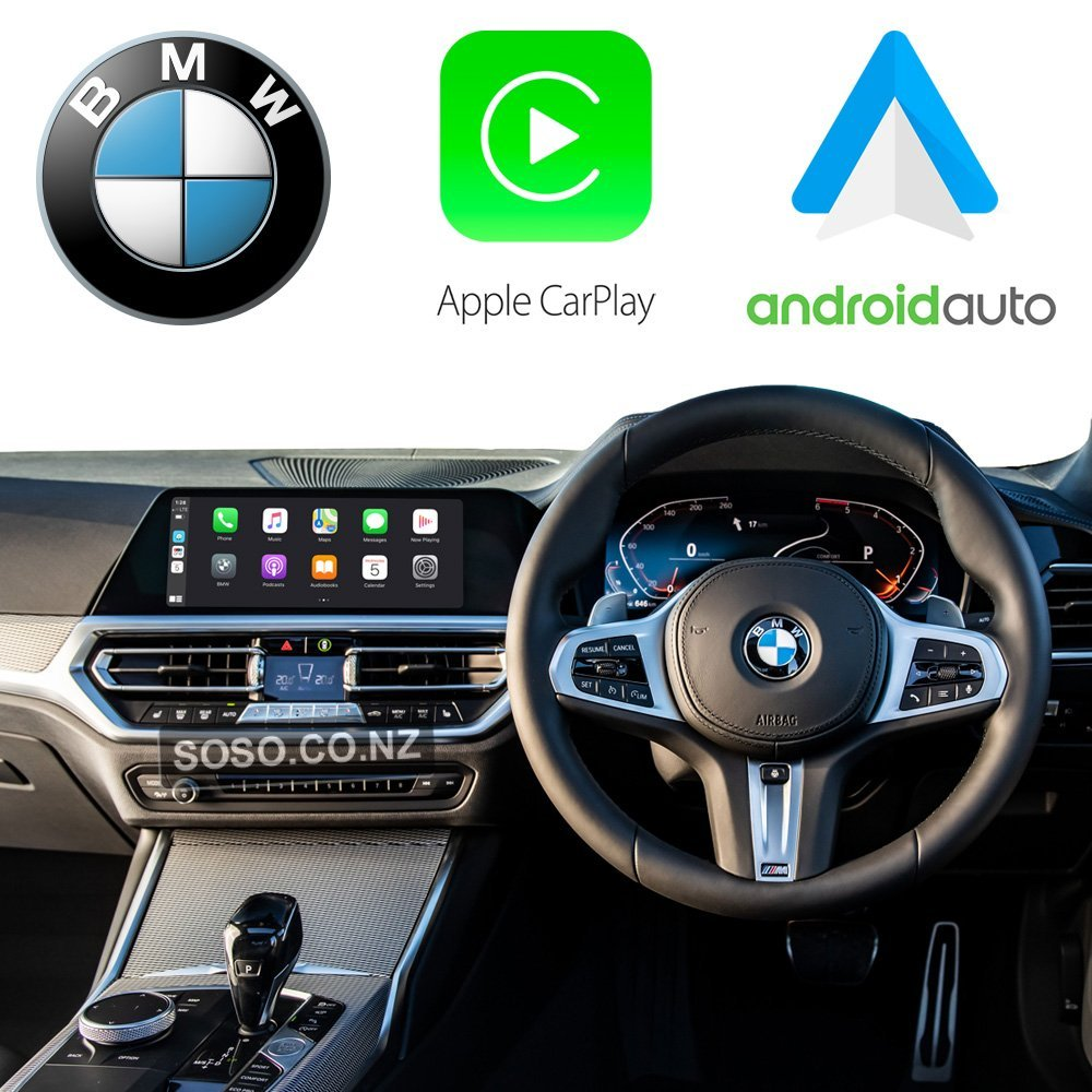 Auto Retrofit - Bmw Nbt Evo Id5/6 Apple Carplay Activation