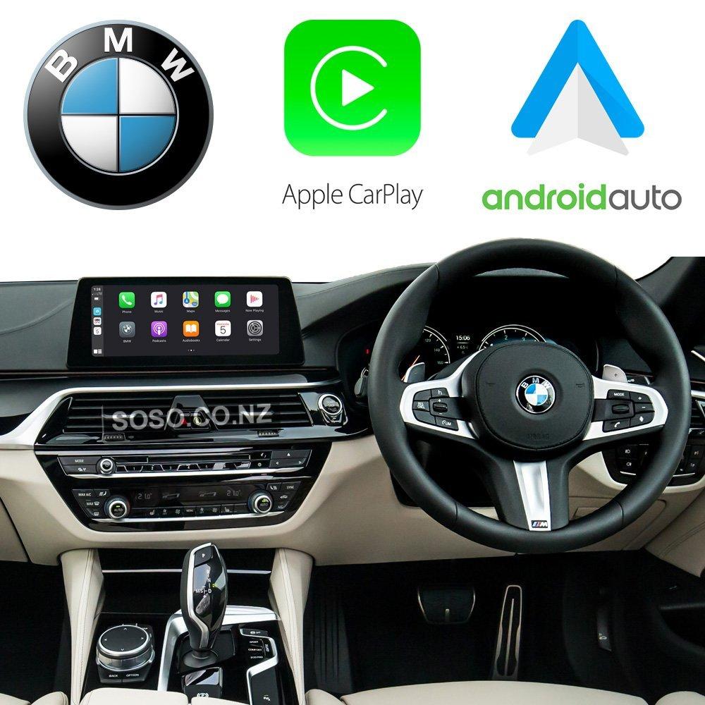 Auto Retrofit - Bmw Evo Idrive Apple Carplay &Amp; Android Auto Retrofit Kit (Wireless)