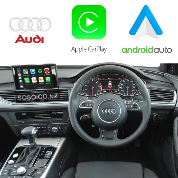 Auto Retrofit - Audi A6 S6 Rs6 (2011-2018) Apple Carplay &Amp; Android Auto Retrofit Kit