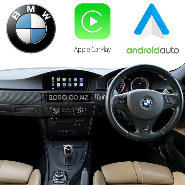 Auto Retrofit - Bmw Cic Idriveapple Carplay &Amp; Android Auto Retrofit Kit (Wireless)