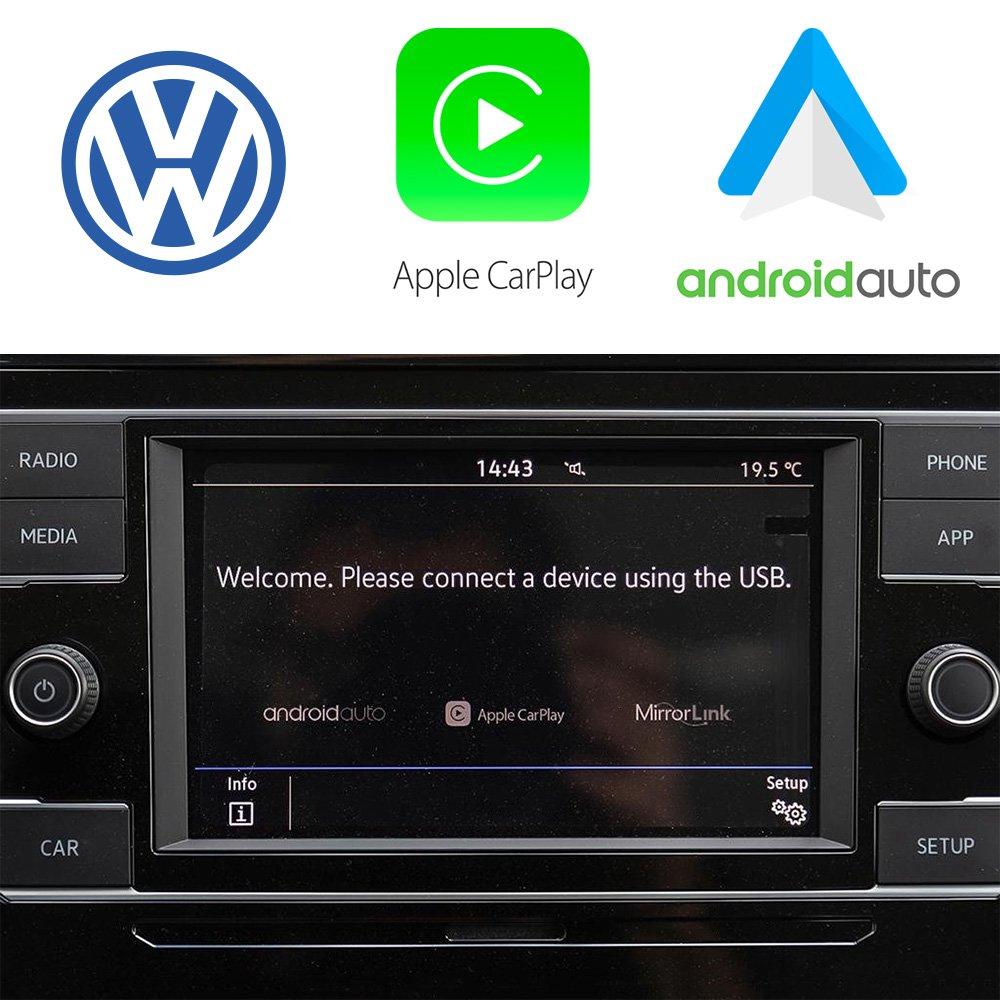 Auto Retrofit - Apple Carplay &Amp; Android Auto Activation For Vw Mib2 App Connect