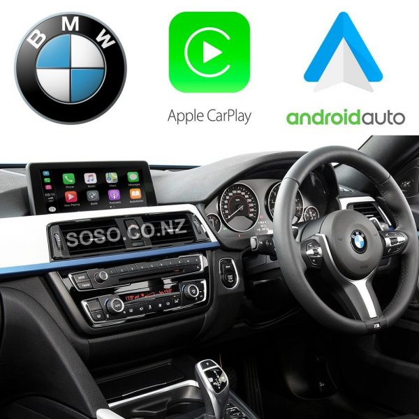 Auto Retrofit - Bmw Nbt (Cic-High) Idrive Apple Carplay &Amp; Android Auto Retrofit Kit (Wireless)