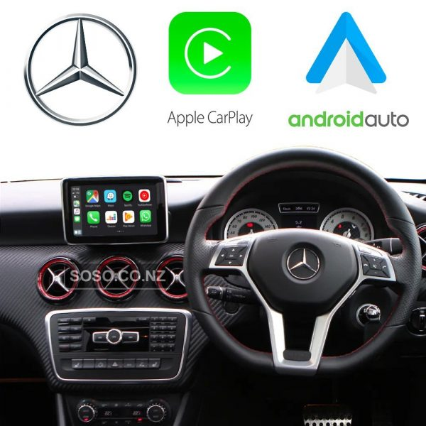 Auto Retrofit - Apple Carplay &Amp; Android Auto Retrofit Kit For Mercedes Ntg 4.5 4.7 Cla Cls Glc Gla