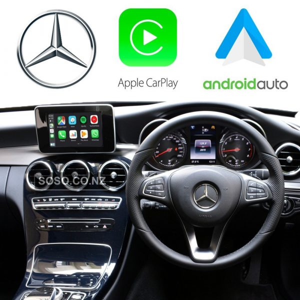 Auto Retrofit - Apple Carplay &Amp; Android Auto Retrofit Kit For Mercedes Ntg 5.0 5.1 Cla Cls Gle Gls