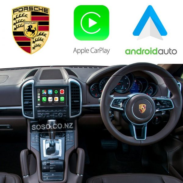 Auto Retrofit - Porsche Pcm 3.1 / Cdr+ Apple Carplay &Amp; Android Auto Retrofit Kit