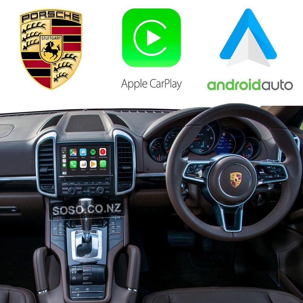Auto Retrofit - Porsche Pcm 3.1 / Cdr+ Apple Carplay &Amp; Android Auto Retrofit Kit