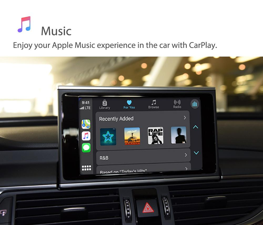 Auto Retrofit - Audi A7 S7 Rs7 (2010-2018) Apple Carplay &Amp; Android Auto Retrofit Kit