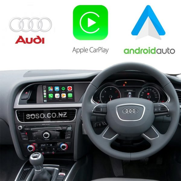 Auto Retrofit - Audi Symphony &Amp; Concert Apple Carplay &Amp; Android Auto Oem Integration Kit (Wireless)
