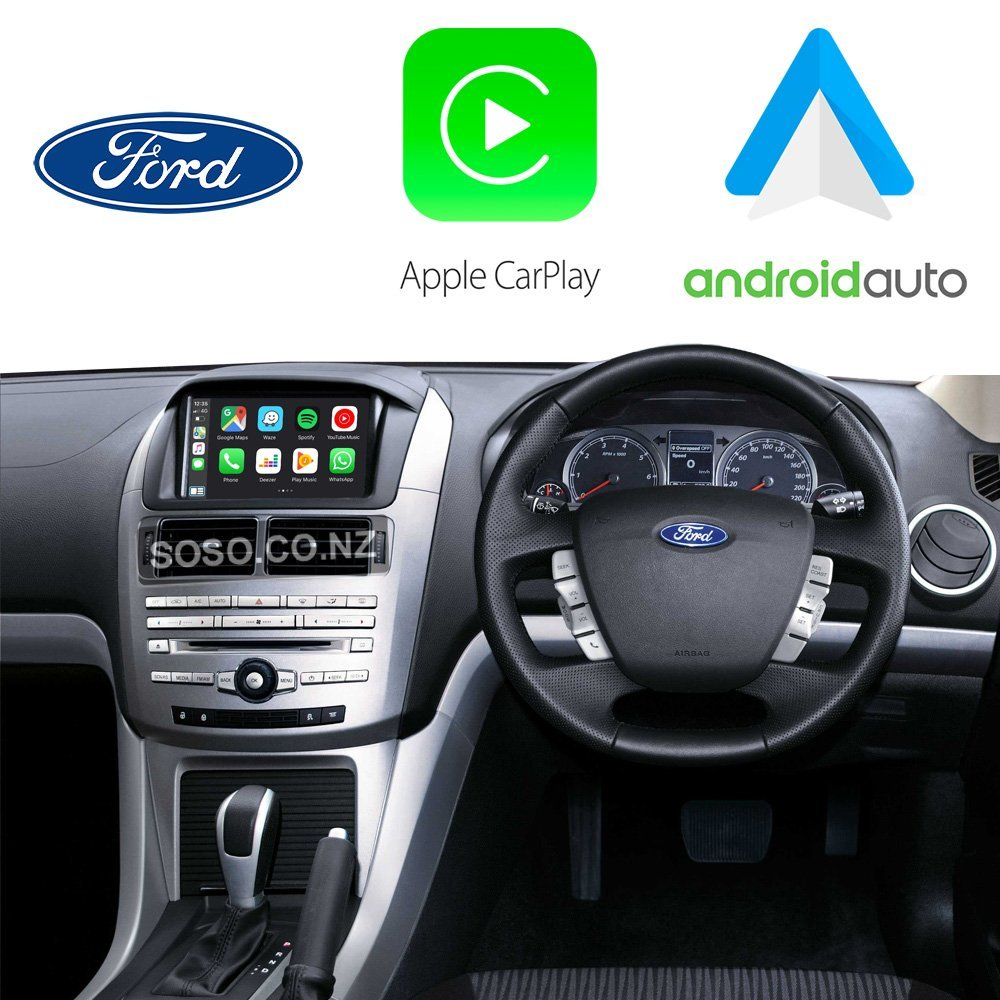 Auto Retrofit - Ford Falcon 2014~2017 Wireless Apple Carplay &Amp; Android Auto Integration Kit