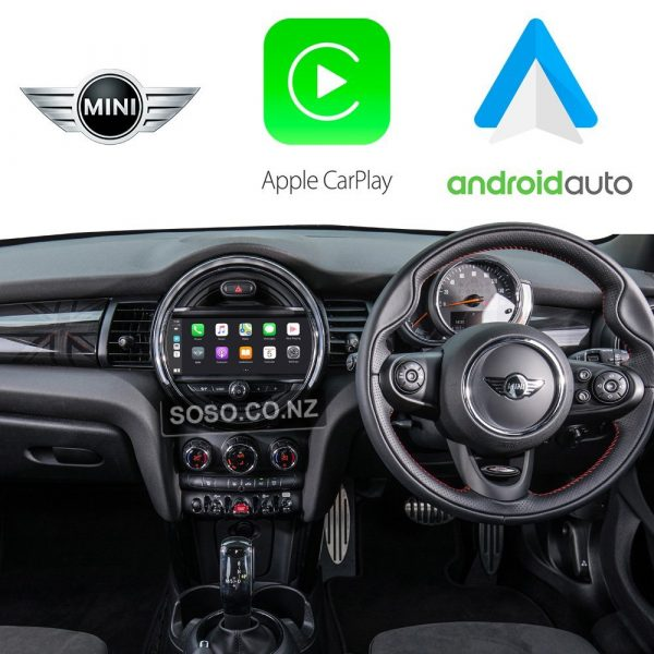 Auto Retrofit - Apple Carplay &Amp; Android Auto Retrofit Kit For Bmw Mini Cooper Cic 08-12