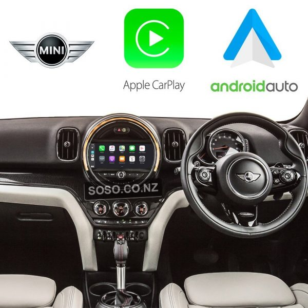 Auto Retrofit - Apple Carplay &Amp;Amp; Android Auto Retrofit Kit For Bmw Mini Cooper Nbt 13-15
