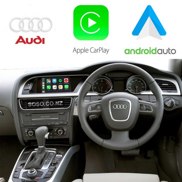 Auto Retrofit - Audi A4 S4 Rs4 (2009-2015) Apple Carplay &Amp; Android Auto Retrofit Kit