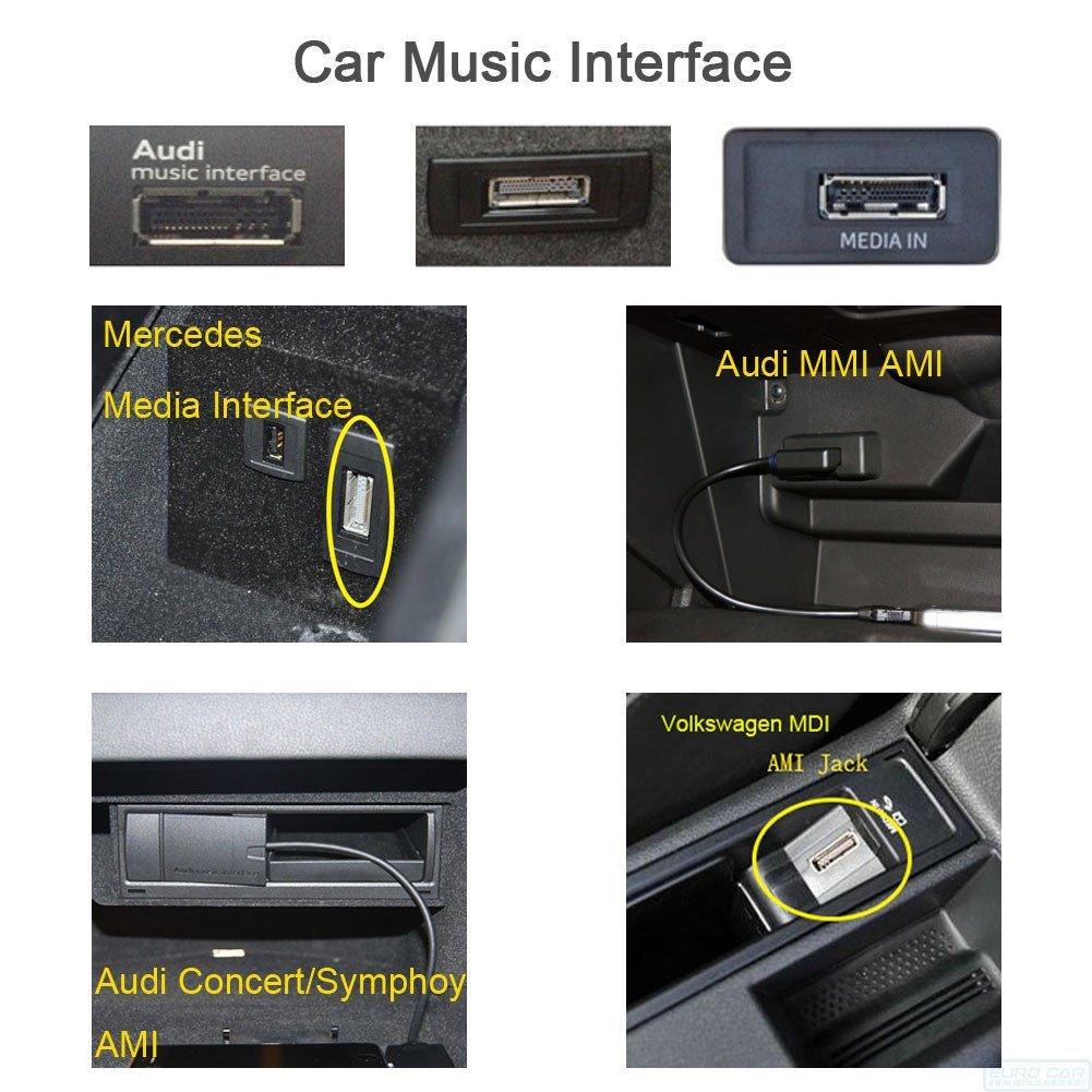 Auto Retrofit - Invery Airdual Tune2Air Plug-And-Play Bluetooth Adapter