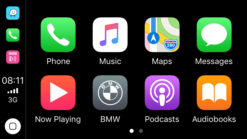 Carplay Home Screen