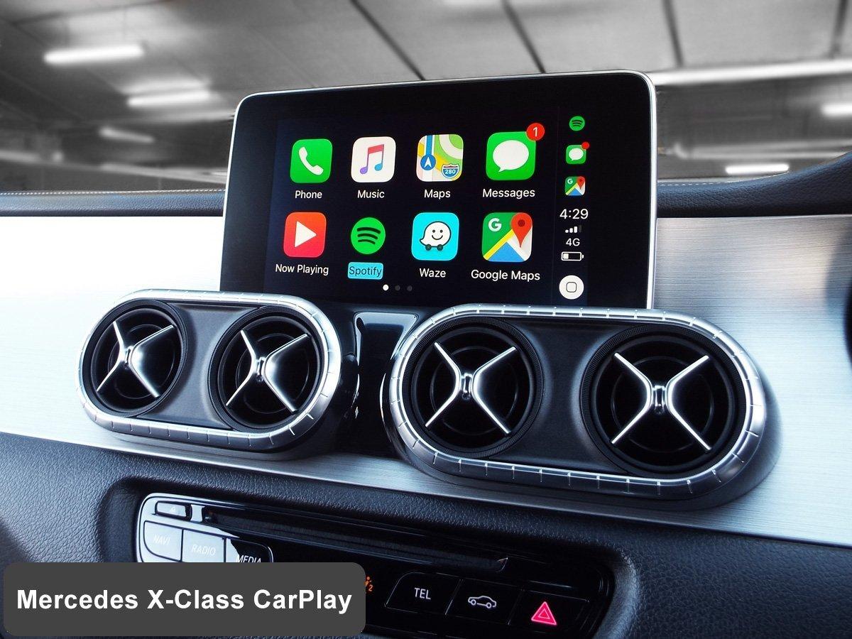 Auto Retrofit - Mercedes Benz X-Class With Wireless Apple Carplay Installed By Auto Retrofit
