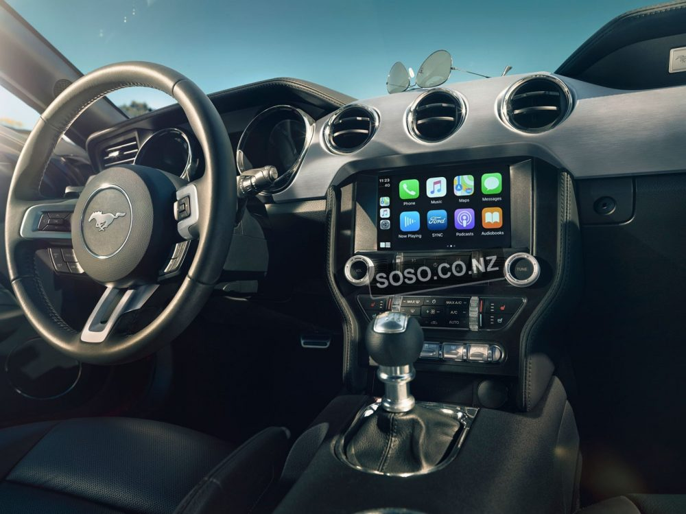 Auto Retrofit - Ford Mustang 2015~2017 Wireless Apple Carplay &Amp; Android Auto Integration Kit