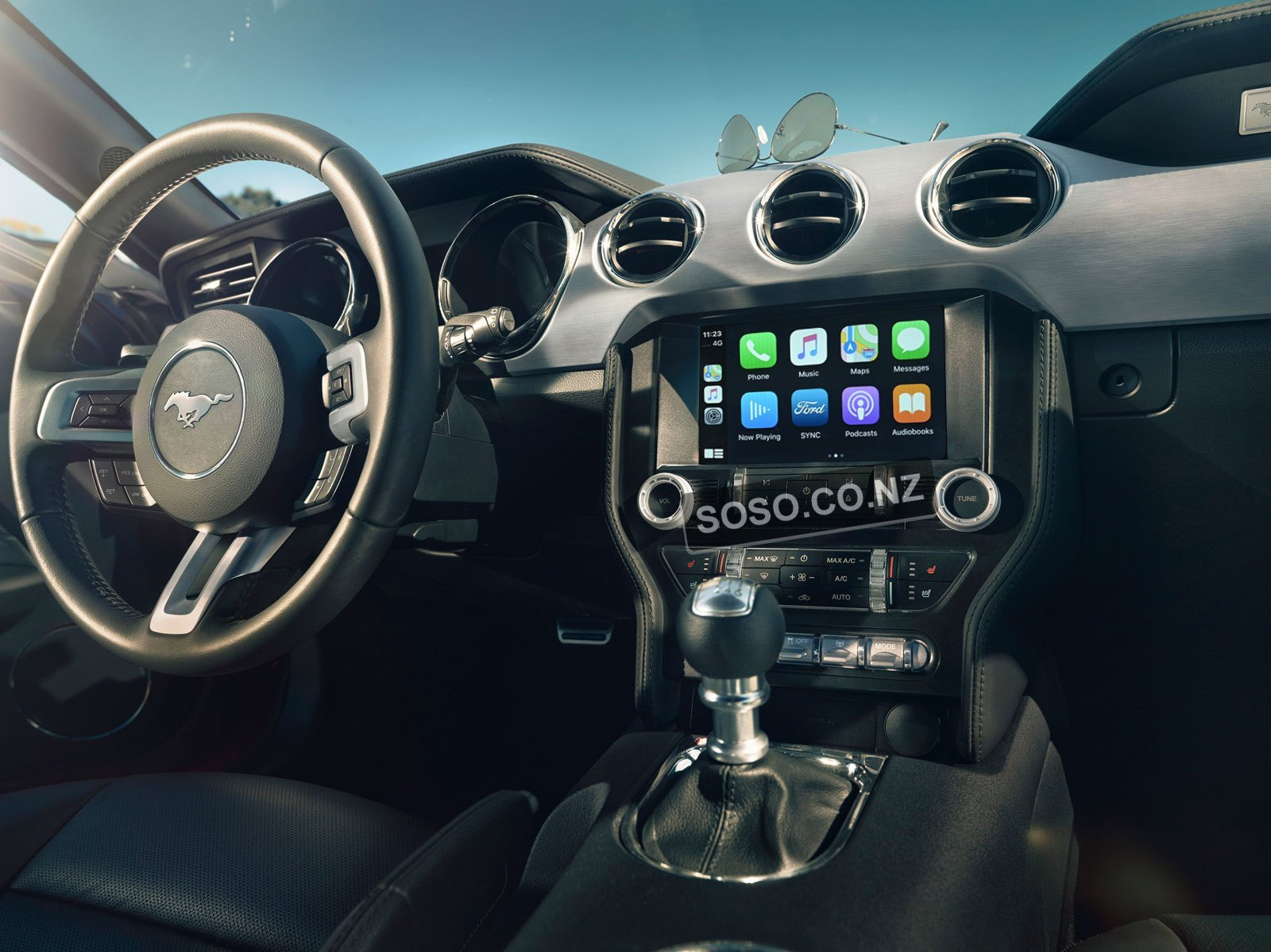 Ford Mustang Android Auto