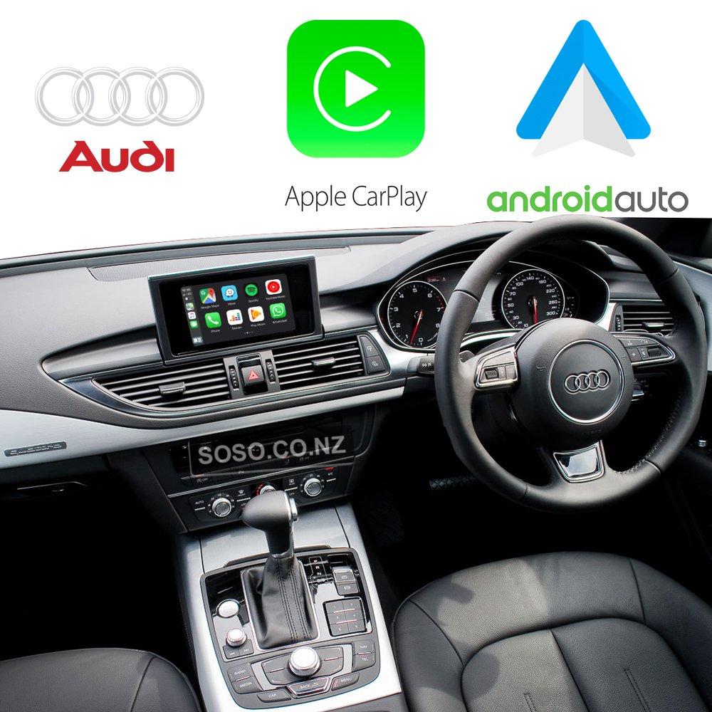 Auto Retrofit - Audi A6 S6 Rs6 (Rmc) Apple Carplay &Amp; Android Auto Retrofit Kit