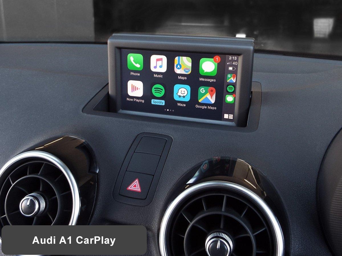 Audi A1 With Wireless Apple Carplay Installed By Auto Retrofit