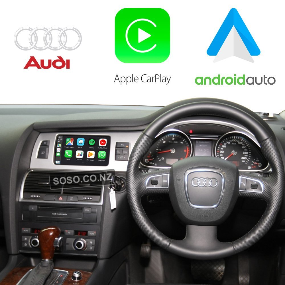 Auto Retrofit - Audi Q7 Sq7 (2010-2015) Apple Carplay &Amp; Android Auto Retrofit Kit