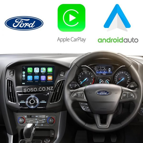 Auto Retrofit - Ford Focus 2012~2017 Wireless Apple Carplay &Amp;Amp; Android Auto Integration Kit