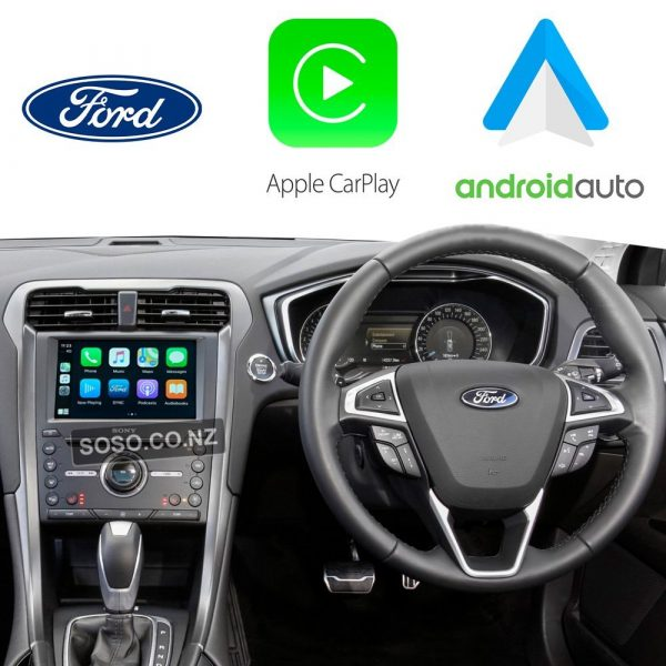 Auto Retrofit - Ford Mondeo 2015~2017 Wireless Apple Carplay &Amp;Amp; Android Auto Integration Kit