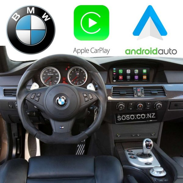 Auto Retrofit - Bmw Ccc Idrive Apple Carplay &Amp;Amp; Android Auto Kit (Wireless)