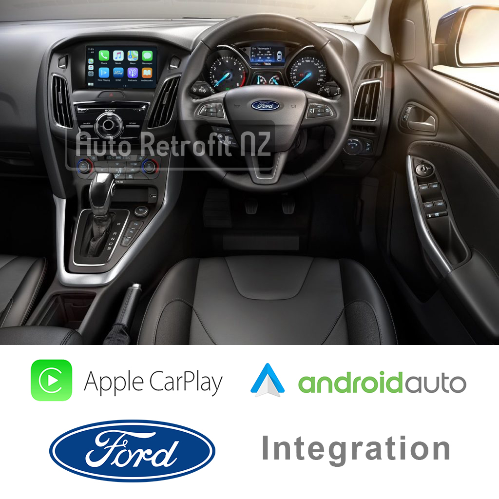 Auto Retrofit - Ford Sync 2 Apple Carplay And Android Auto (Without Sync3)