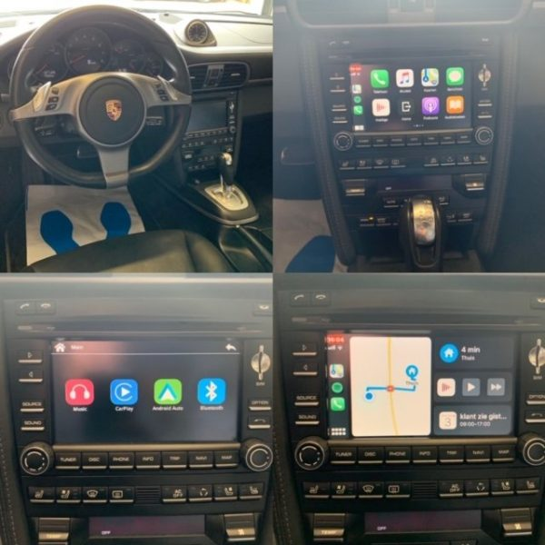 Auto Retrofit - Porsche Pcm3.0 Apple Carplay And Android Auto