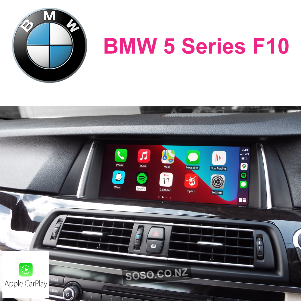 Auto Retrofit - Bmw 5 Series F10 Carplay Upgrade
