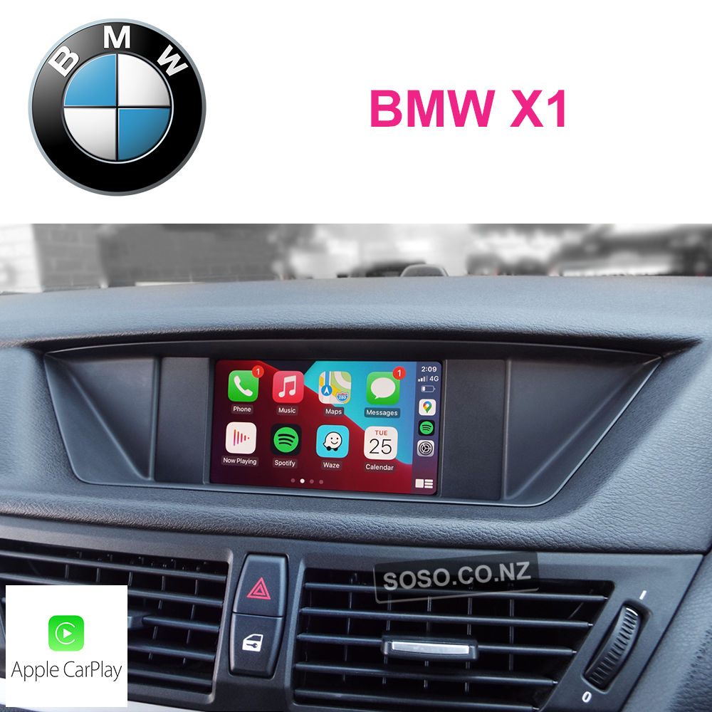 Auto Retrofit - Bmw X1 Carplay Upgrade