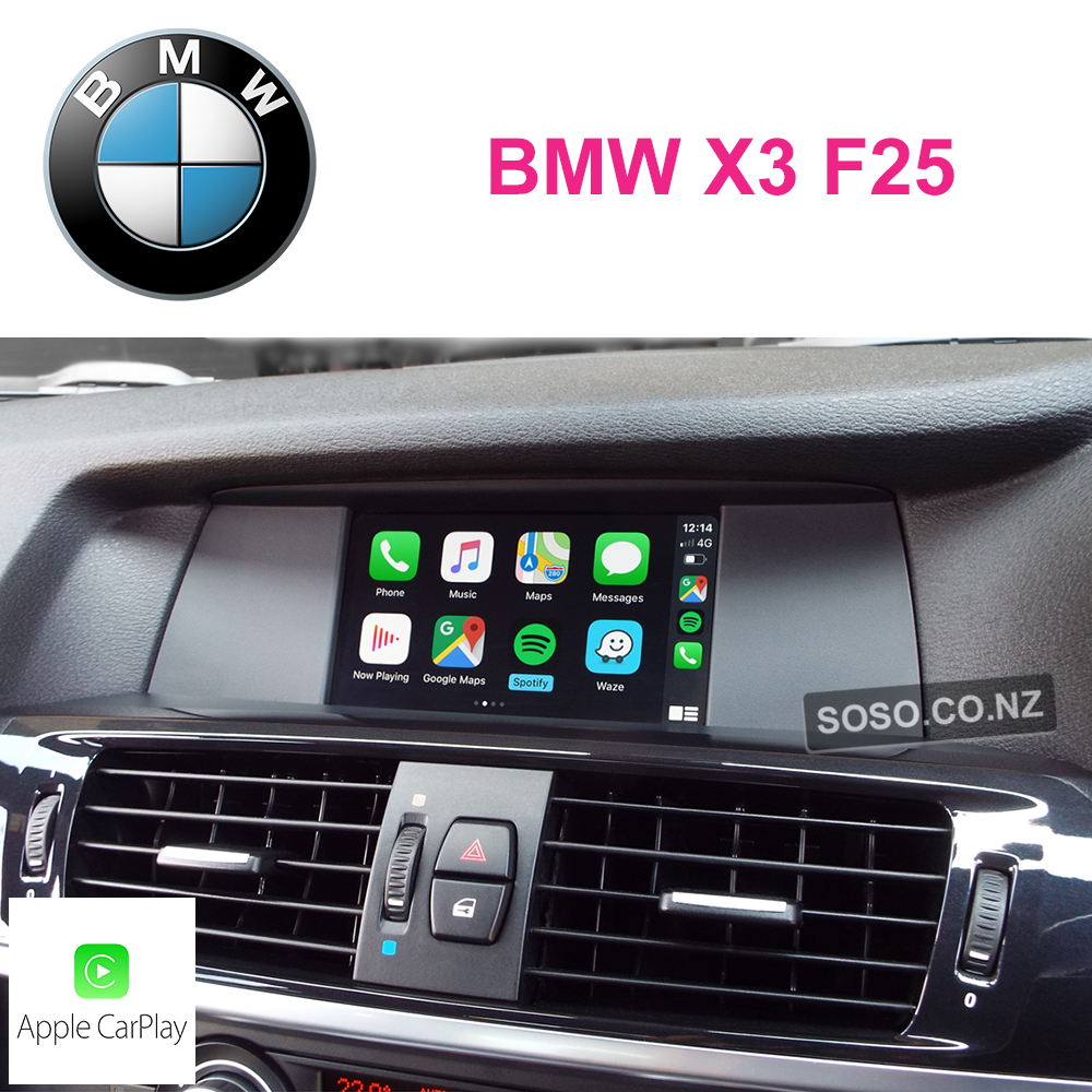 Auto Retrofit - Bmw X3 F25 Carplay Upgrade