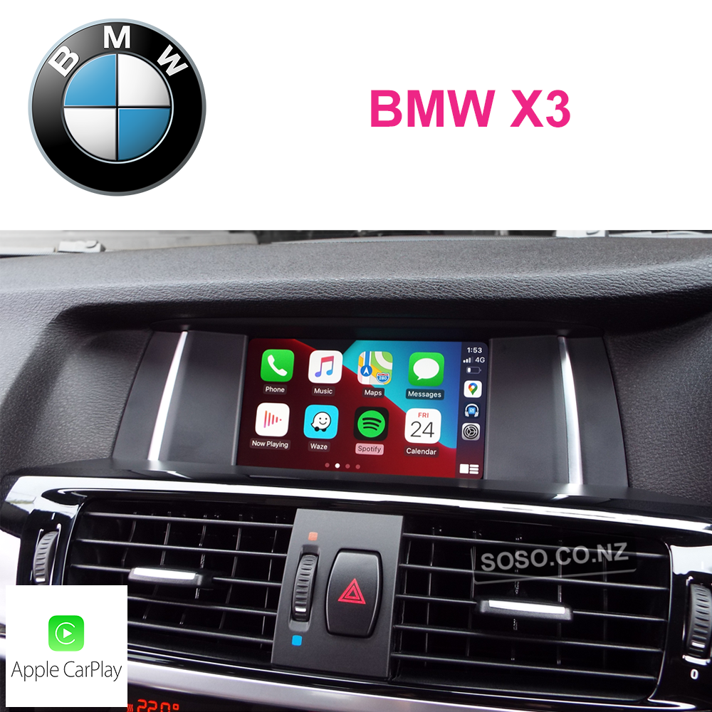 Auto Retrofit - Bmw X3 Carplay Upgrade