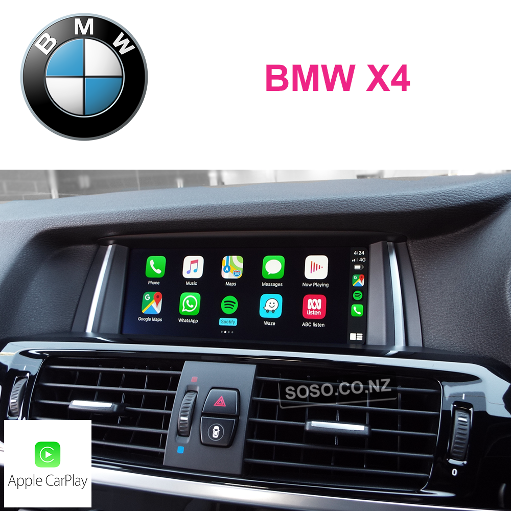 Auto Retrofit - Bmw X4 Carplay Upgrade