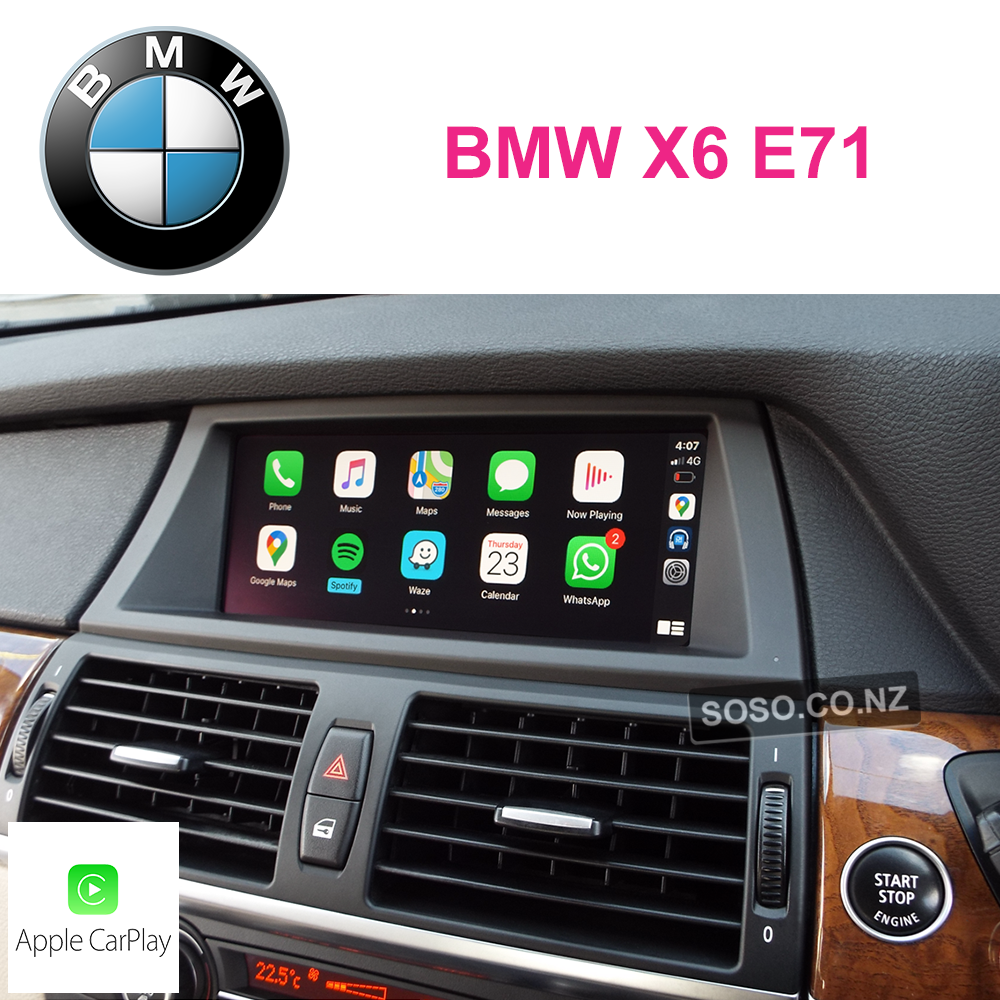 Auto Retrofit - Bmw X6 E71 Ccc Carplay Upgrade