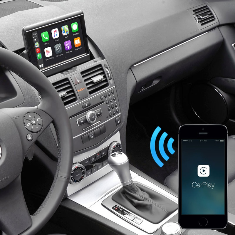 Auto Retrofit - Mercedes Benz Ntg4.0 (2007-2012) Carplay And Android Auto Upgrade Kit