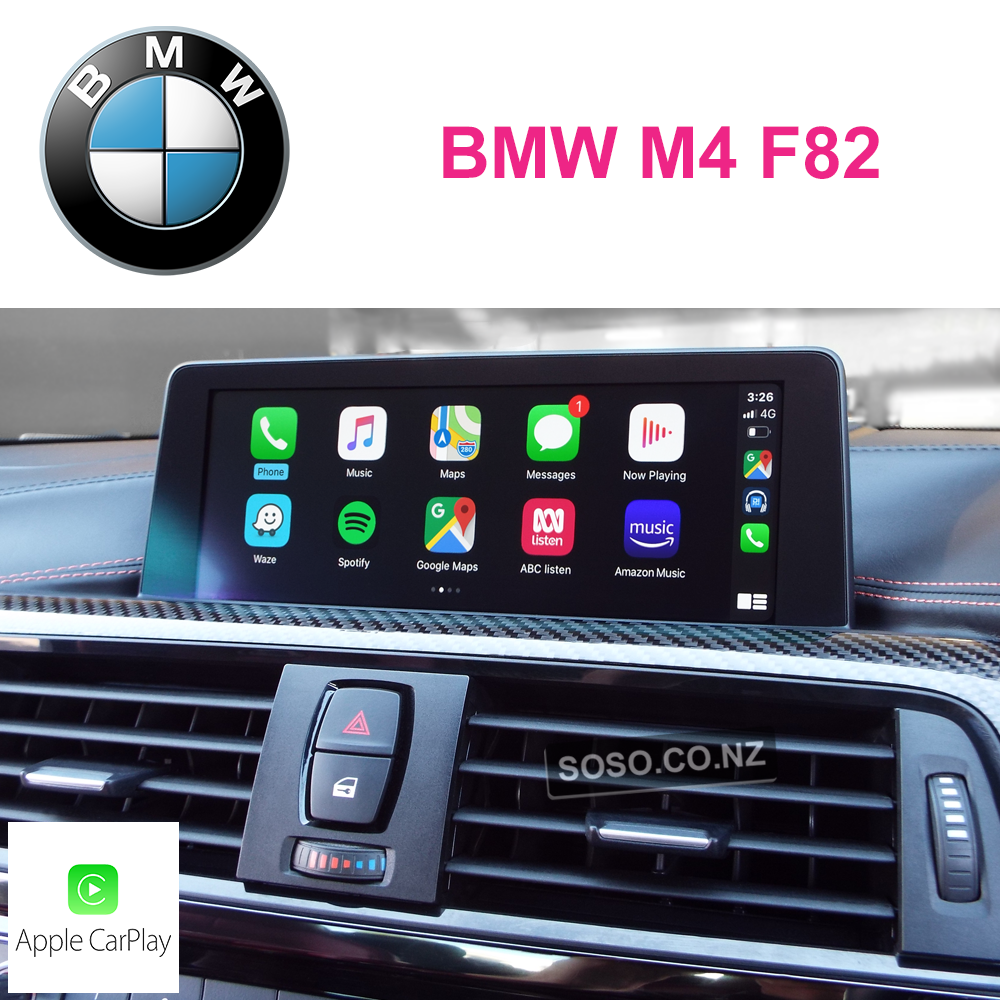 Auto Retrofit - Bmw M4 F82 Carplay Upgrade