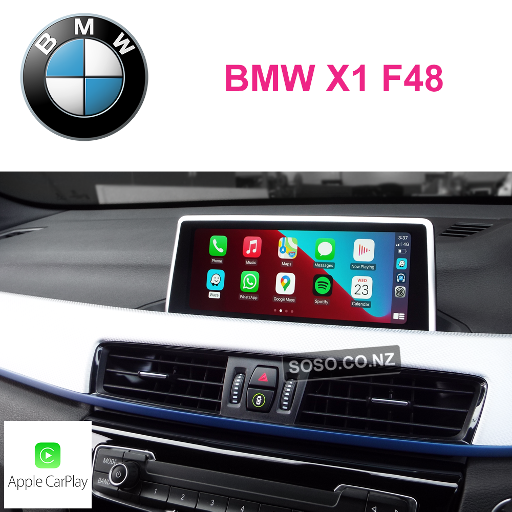 Auto Retrofit - Bmw X1 F48 Carplay Upgrade