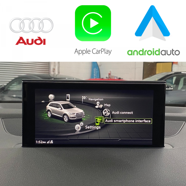Auto Retrofit - Audi Mib2 Apple Carplay &Amp; Android Auto Usb Activation