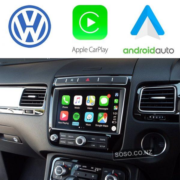 Auto Retrofit - Volkswagen Touareg (2010 - 2018) Apple Carplay &Amp; Android Auto Integration Kit